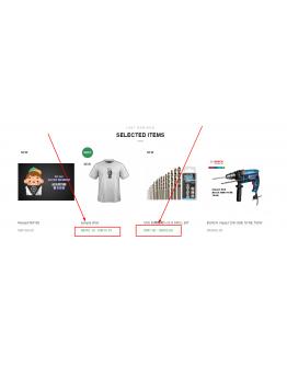 Multi Price in product